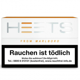 Heets From Marlboro Tobacco Sticks Amber Selection