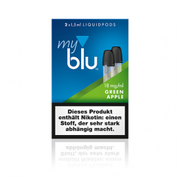 myblu Green Apple Liquidpods