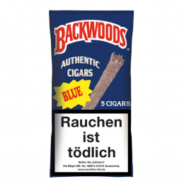 Backwoods Authentic Cigars Blue 5 St/Pck