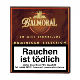 Balmoral  Dominican Selection  Mini Cigarillos  20 St/Pck
