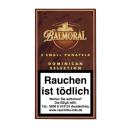 Balmoral  Dominican Selection  Small Panatela  5 St/Pck