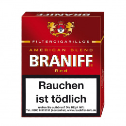 Braniff Red Filter Zigarillos  8 Pck/St