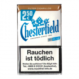 Chesterfield Blue King Size Filter Cigarillos 170 St/Stg