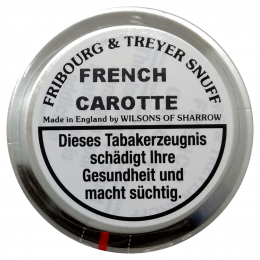 Fribourg & Treyer English Snuff French Carotte 25g