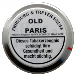 Fribourg & Treyer English Snuff Old Paris 25g