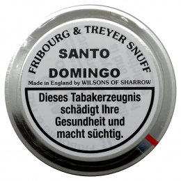 Fribourg & Treyer English Snuff Santo Domingo 25g
