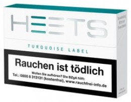 Heets From Marlboro Tobacco Sticks Turquoise Selection