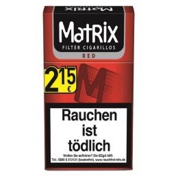 Matrix Red King Size Filter Cigarillos