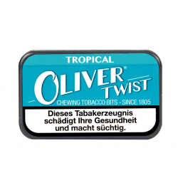 Oliver Twist Tropical Chewing Bits Tabakpastillen