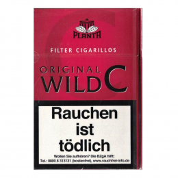 Original Wild C. Filter Cigarillos 200St/Stg