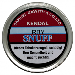 Samuel Gawith Kendal RBY Snuff 25g