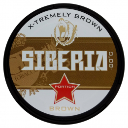 Siberia X-Tremely -80º Brown Chewing Tobacco 20g