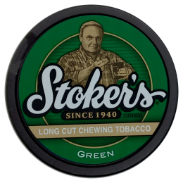 Stoker's Green Long Cut Chewing Tobacco 34g