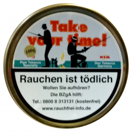 Take Your Time(Take It Easy) 100g Pfeifentabak
