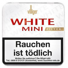 Villiger White Mini Filter 20 St/Pck
