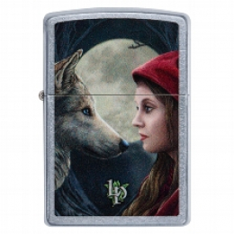 Zippo Lisa Parker Wolf and Woman