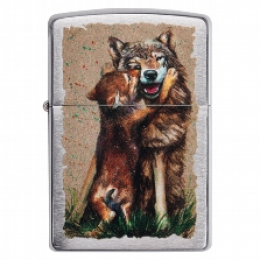 Zippo Wolf and Pub