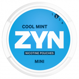 ZYN Nicotine Pouches Mini Cool Mint 8g