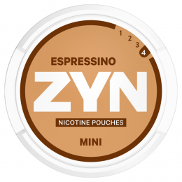 Zyn Nicotine Pouches Mini Epressino Strong 8g