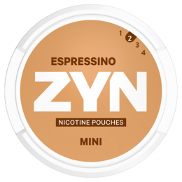 Zyn Nicotine Pouches Mini Epressino 8g