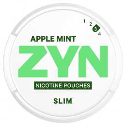 ZYN Nicotine Pouches Slim Apple Mint Strong 16,8g