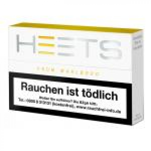 Heets From Marlboro Tobacco Sticks Yellow Selection