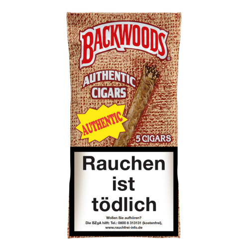 Backwoods Authentic Cigars 5 St/Pck