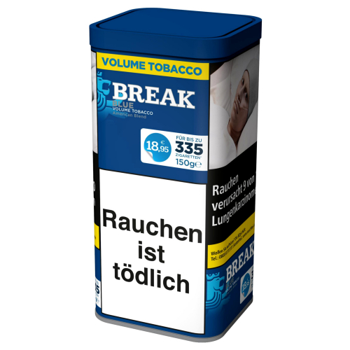 Break Blue Volume Tobacco 120g