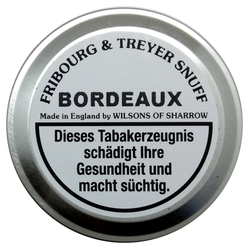 Fribourg & Treyer English Snuff Bordeaux 20g