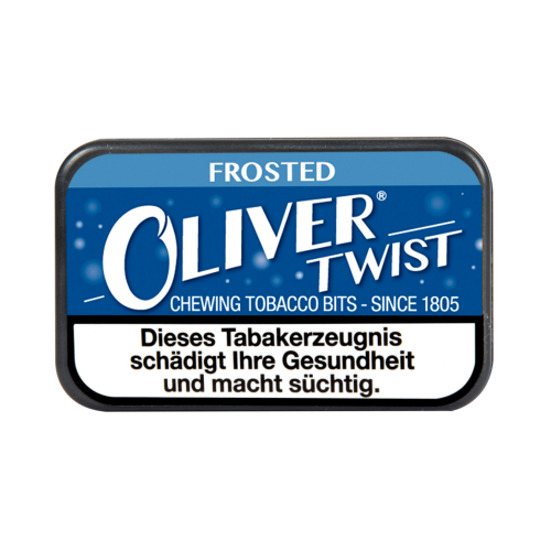 Oliver Twist Frosted Chewing Bits Tabakpastillen 7g