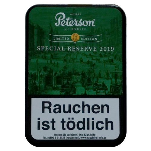 Peterson of Dublin Special Reserve 2019 Limited Editon 100g
