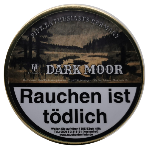 Pipe Enthusiasts Germany Dark Moor 50g
