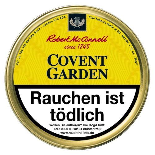 Robert McConnell Heritage Covent Garden 50g