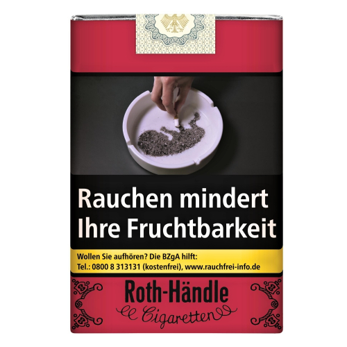 Roth Händle ohne Filter