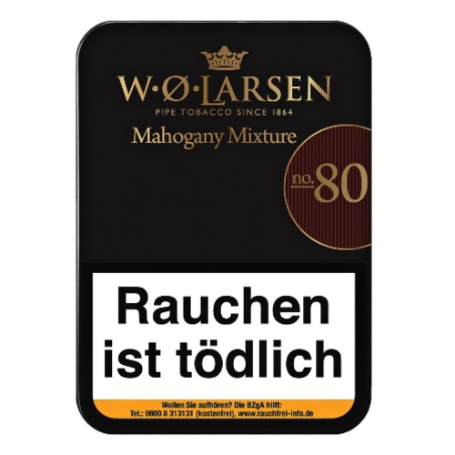 W.Ø. Larsen's Mahogany Mixture No. 80 100g