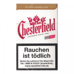 Chesterfield Red King Size Filter Cigarillos 170 St/Stg